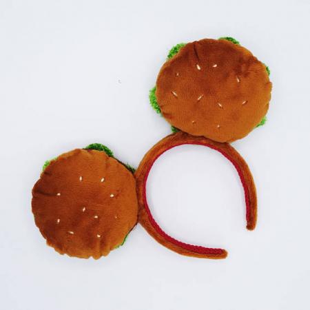 Minnie Mouse-oortjes hamburger