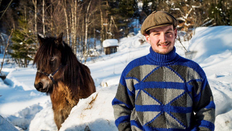 Jitse (22), zorgboer in Noorwegen