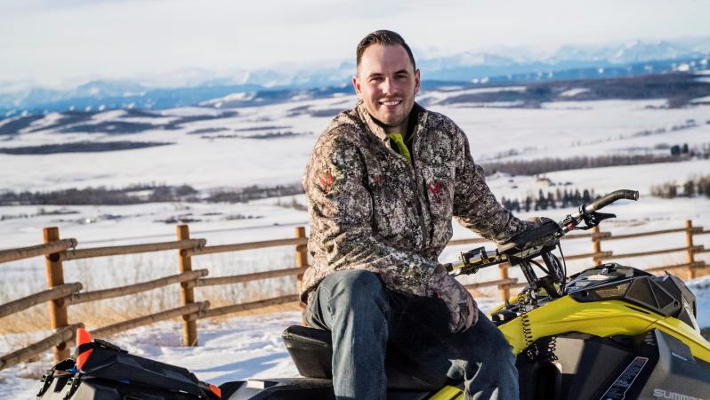 Bjorn (28), honingwijnboer in Canada