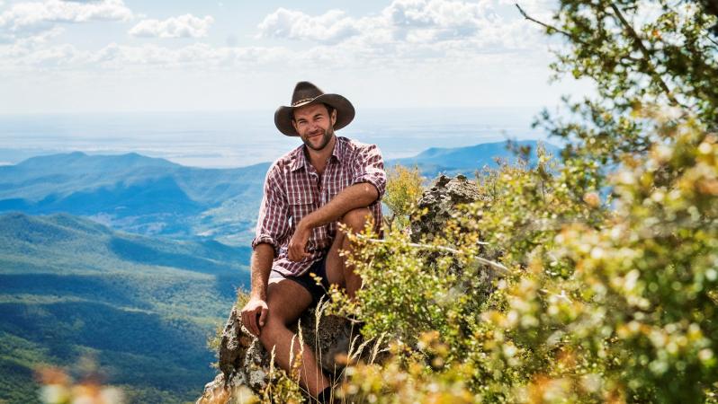 Jan (29), cowboy in Australië