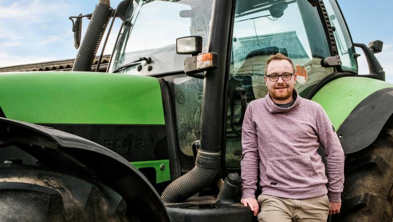 Jeroen (27), melkveeboer in Duitsland