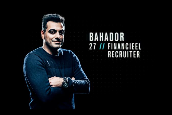 Bahador (27) uit Gent