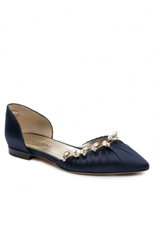 Luisa Flat in navy