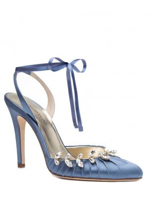 Luisa Pump in hemelsblauw