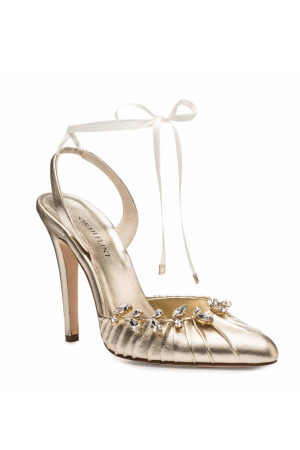 Luisa Pump in goud