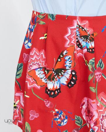 Jupe à papillons