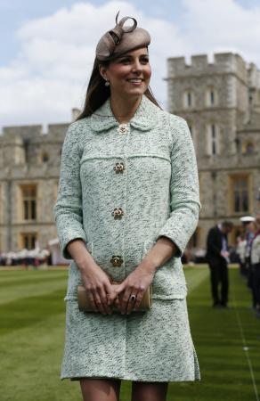 Zwanger van prins George: in maart 2013