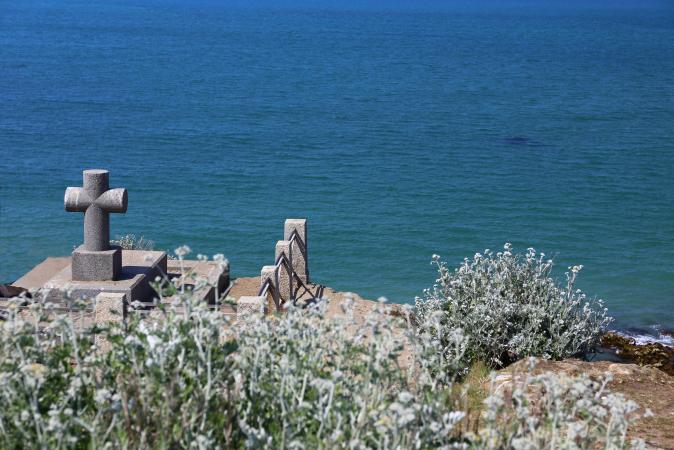 Aller voir le tombeau de Chateaubriand à Saint-Malo