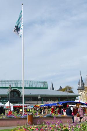 Faire ses courses au marché de Dinard