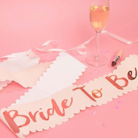 Proud to be a bride!