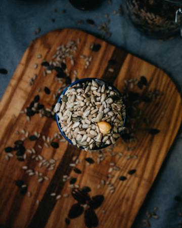 Des graines de tournesol