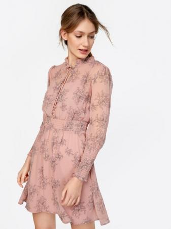 Oudroze jurk