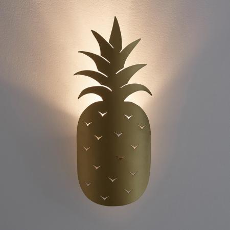 Applique murale en forme d'ananas