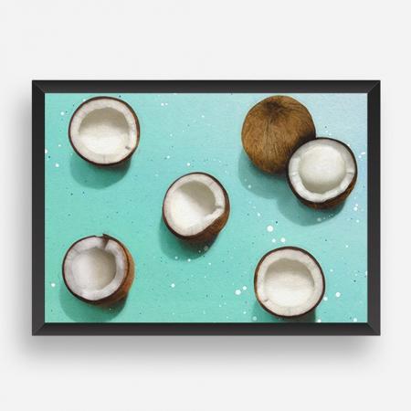 Cadre noix de coco