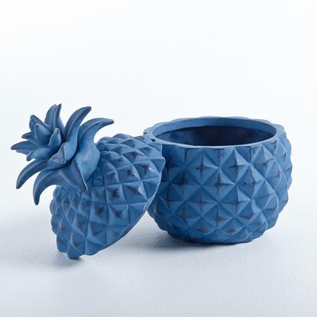 Pot ananas bleu