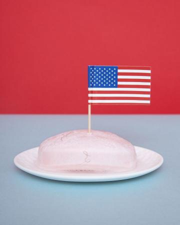 In Nevada mag je geen Amerikaanse vlag in een stuk zeep steken. Olivia Locher
