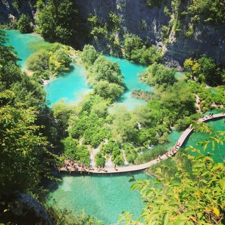 Lac Plitviče, Croatie