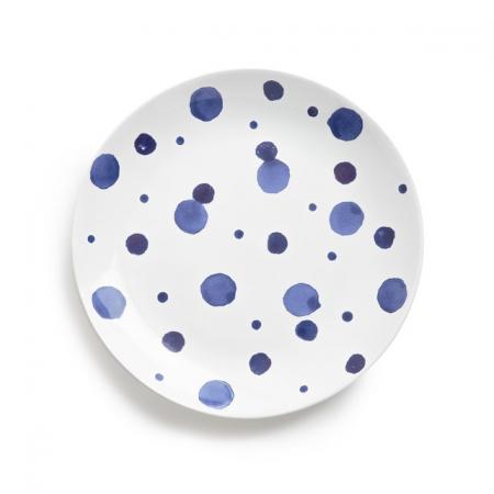 Plat bord in keramiek (set van 4)