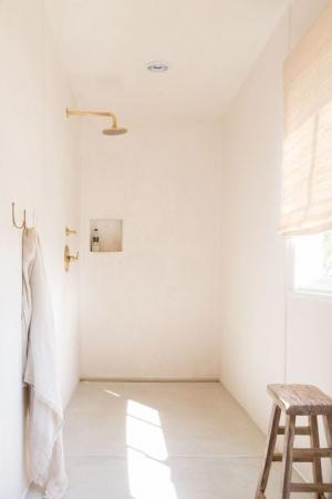 Tendance 5: la douche ouverte