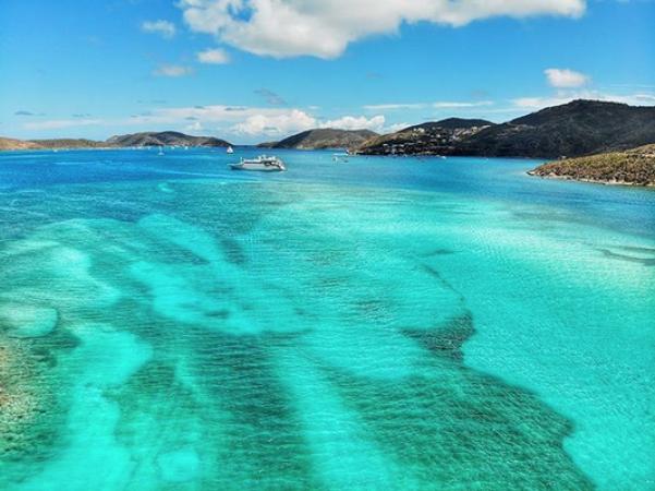 Devil's Bay National Park, Îles Vierges britanniques