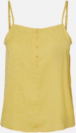 Caraco jaune (boutonné en prime!)