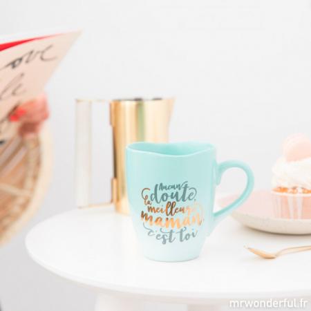 Une tasse qui réchauffe le cœur – Mr Wonderful