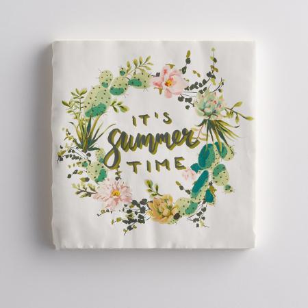 Lot de 20 serviettes «It's summer time»