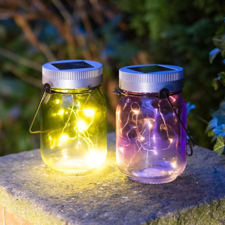 Pot met lichtjes