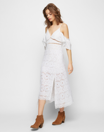 Zomerjurk 'Camilla' in broderie anglaise