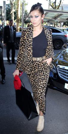 Suit it up zoals Bella Hadid