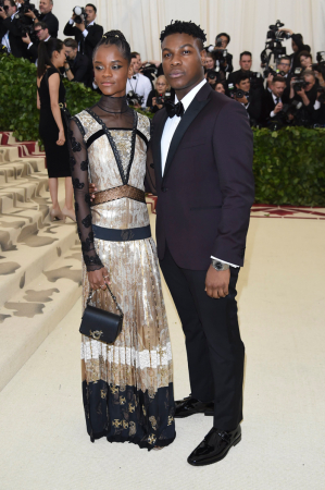 Letitia Wright en John Boyega