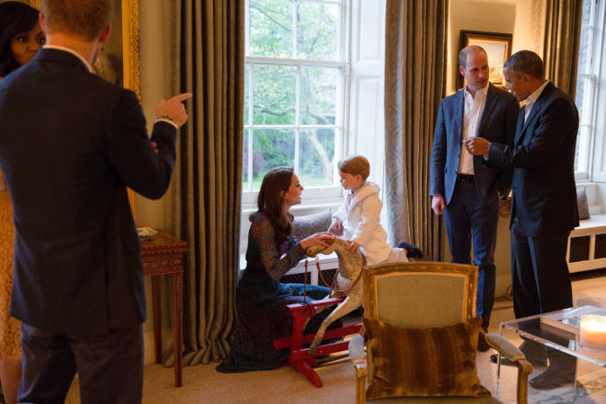 Appartement van Kate Middleton & prins William