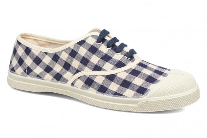 Marineblauwe tennisschoenen