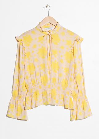 Gele bloes
