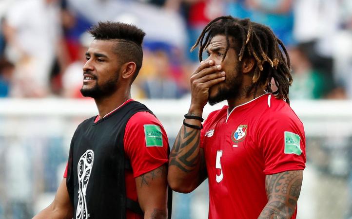 Anibal Godoy (links) en Roman Torres (rechts) (Panama)