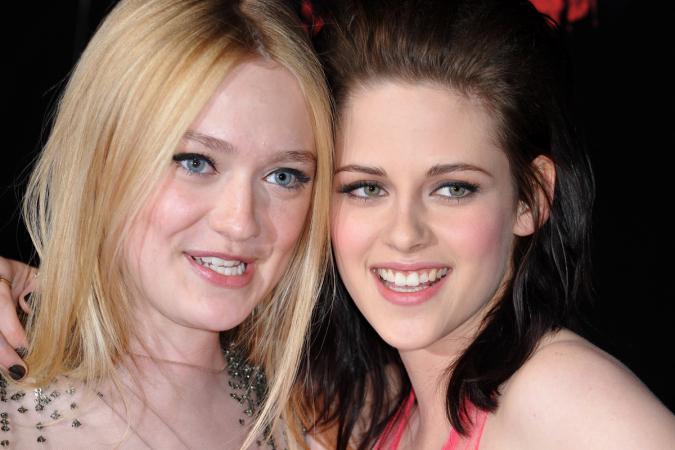 Dakota Fanning et Kristen Stewart