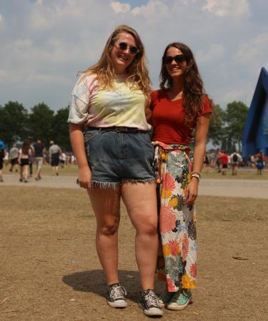 Megan (21) en Katy (21) uit Birmingham