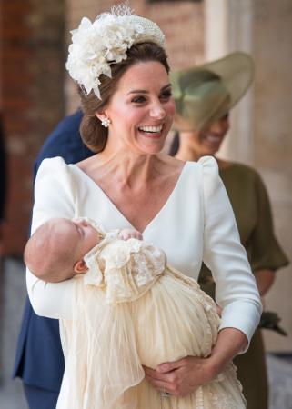 Kate Middleton met prins Louis