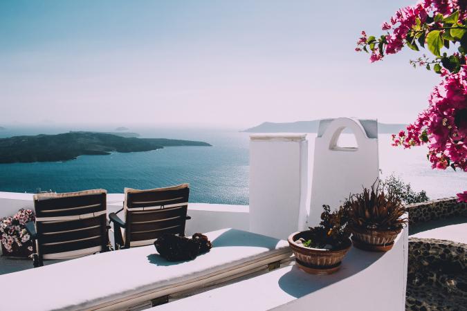 4. Santorin – Grèce