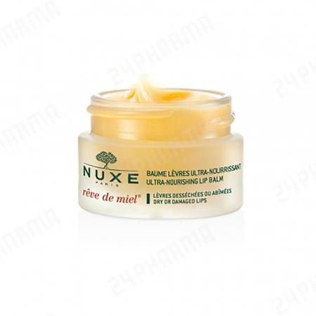 Baume lèvres ultra nourrissant rêve de miel, Nuxe