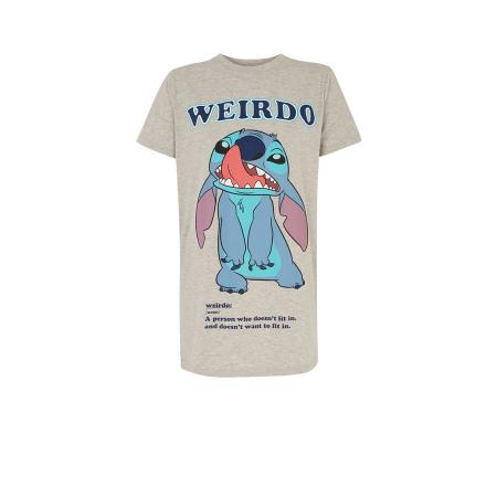 Grijs T-shirt met Stitch