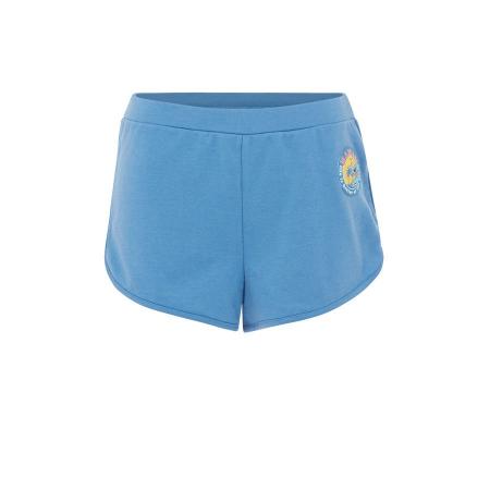 Blauw shortje met Stitch