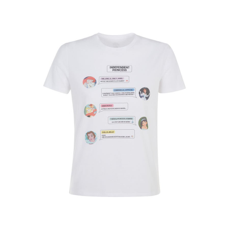 T-shirt met Disneyprinsessen