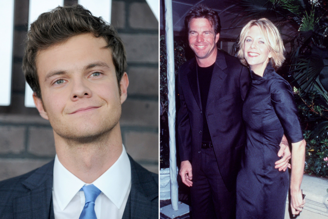 Jack Quaid is de zoon van Dennis Quaid en Meg Ryan