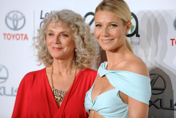 Gwyneth Paltrow est la fille de Blythe Danner