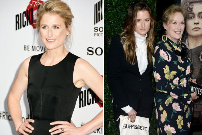 Mamie en Grace Gummer sont les filles de Meryl Streep