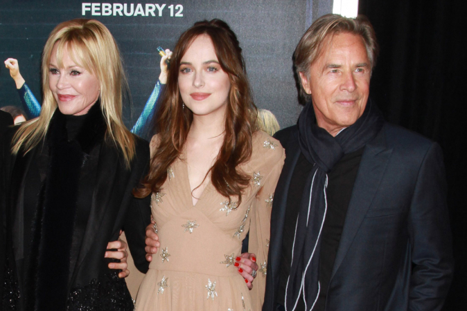 Dakota Johnson is de dochter van Melanie Griffith en Don Johnson