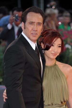 Nicolas Cage en Alice Kim