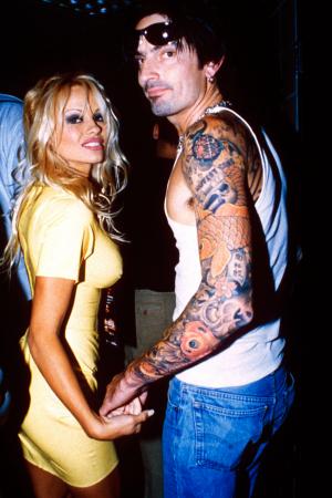 Pamela Anderson en Tommy Lee