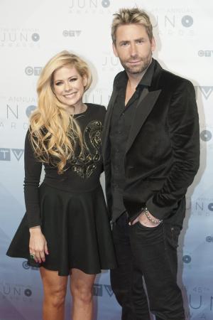 Avril Lavigne en Chad Kroeger